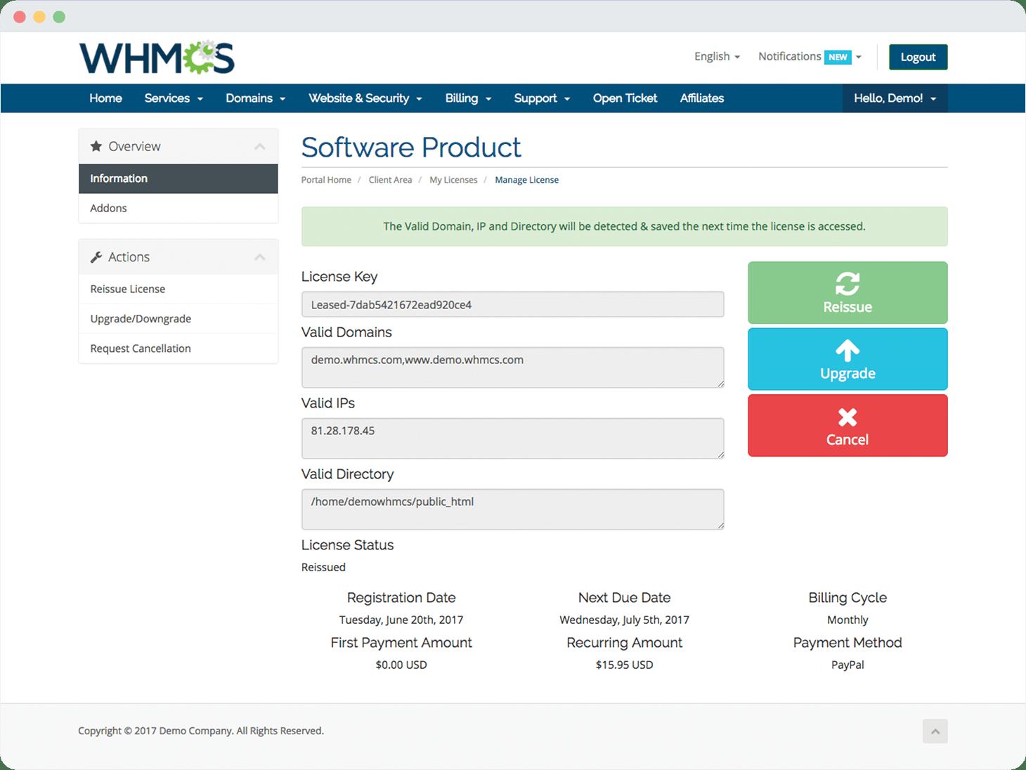 Build, License & Distribute Software | WHMCS