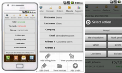 aWHMCS Android App