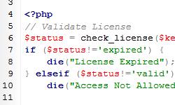 Licensing Addon